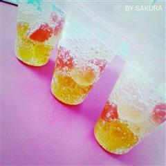消暑神器-雪碧软糖冰棍