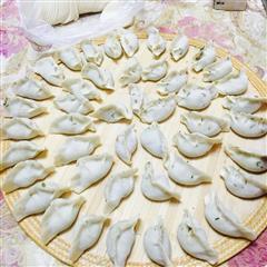 牛肉茴香饺子