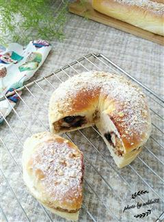 核桃蓝莓爆浆面包