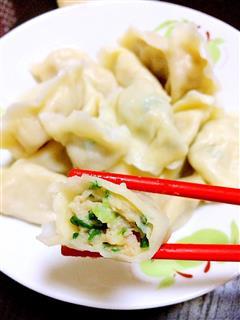 龙利鱼馅儿饺子口口清香回味无穷