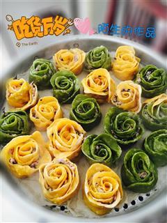 玫瑰花水饺