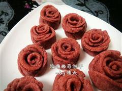 玫瑰曲奇饼