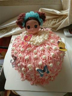 泡泡浴娃娃蛋糕