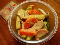 玉米笋沙拉