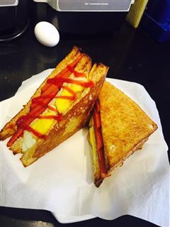 低颜值三明治