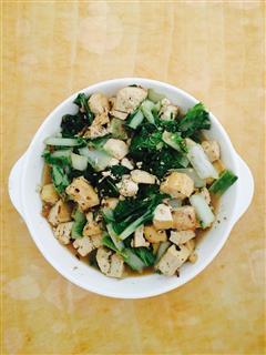 海米水白菜炖豆腐