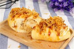 肉松沙拉酱面包的做法