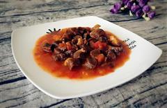 西红柿炖牛腩/牛肉