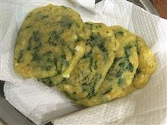 油菜豆腐小饼