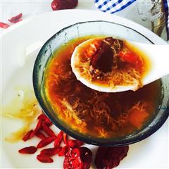 百合枸杞红枣鸡蛋羹