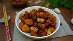 茭白红烧肉-肥而不腻应季菜