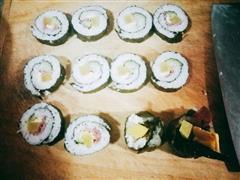 DIY韩式紫菜包饭