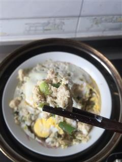 朱仙森的改良版肉饼蒸蛋
