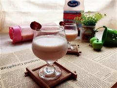 莓汁苹果奶昔