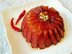 梅干菜蒸腊肉