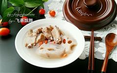 坤博砂锅莲藕排骨汤