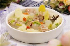 山药白玉羊肉汤