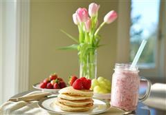 Pancake&草莓奶昔