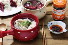 吃也要美感-浮雕波点沙茶饺子