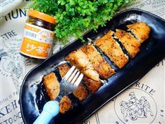沙茶酱烤鱼排