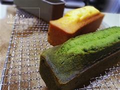 抹茶磅蛋糕&蔓越梅磅蛋糕