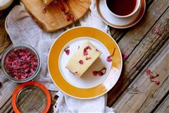 春暖花开,花季里的花美食-樱花蛋糕卷