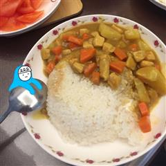 零失败咖喱鸡肉饭